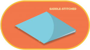 saddle stitch book printing
